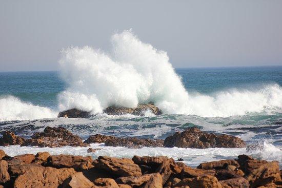 Lutzville, Afrika Selatan: The ocean is not so far away