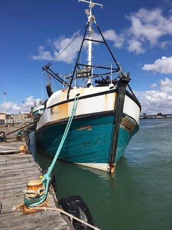 Lutzville, Afrika Selatan: Crayfish on the way