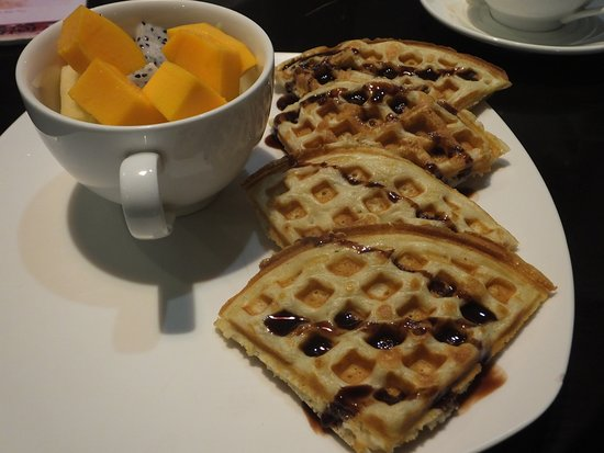 Poipet, Campuchia: waffles