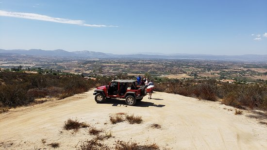 Temecula Valley Jeep & Wine Tours: Overlooking Temecula Valley
