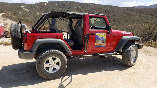 Temecula Valley Jeep & Wine Tours: Modified Tour Jeep