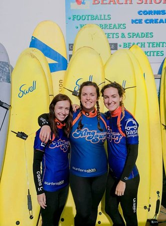 Kingsurf Surf School: Me and my two girls who were trying surfing for the first time and had an awesome time!