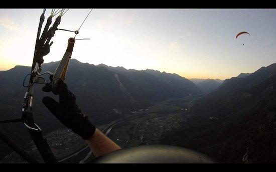 Lumino, สวิตเซอร์แลนด์: Herrlich!