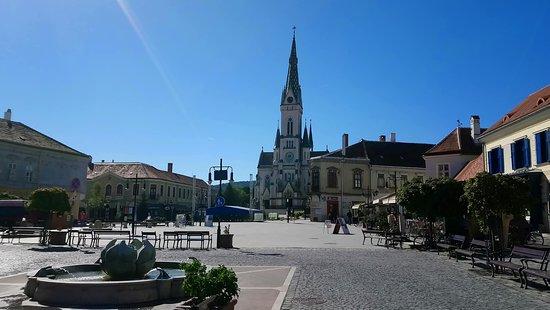 Koszeg, Hongaria: Hier befindet sich Terasse Restaurant Etterem