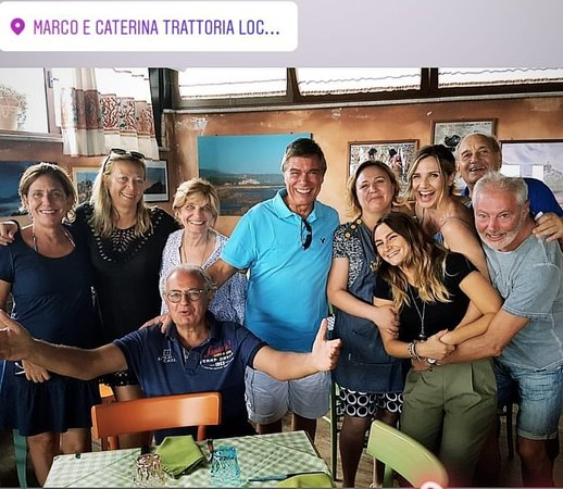 """Marco e Caterina: La più amata dagli italiani ( Lorella Cuccarini) alla Trattoria """"da Marco&Caterina"""