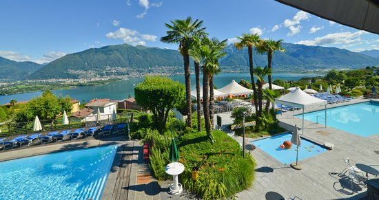San Nazzaro, Suisse : Poollandschaft
