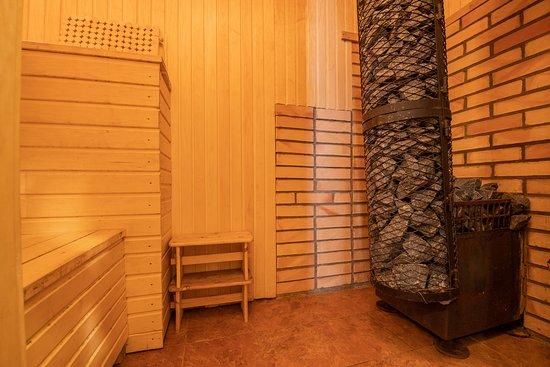 Bernati, Łotwa: Guest house sauna