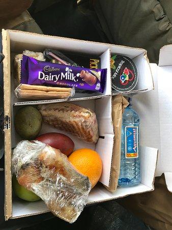 Lake Elementaita, Kenya: Lunch box