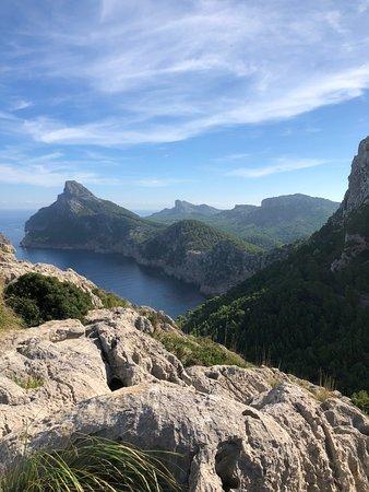 Mirador Es Colomer Formentor: Blick aufs Meer