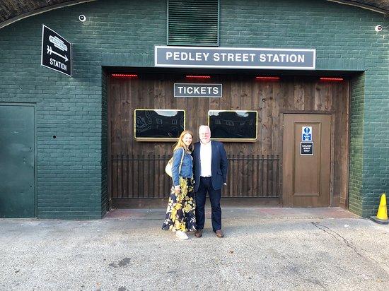 Pedley Street Station