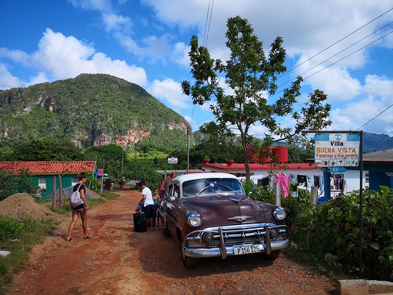 Returning from Vinales