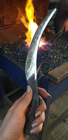 Garway, UK: Finished Elven Knife