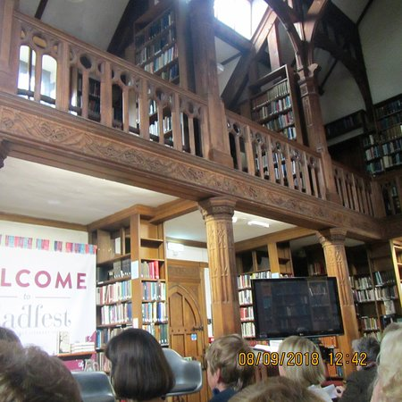 Hawarden, UK: inside the library