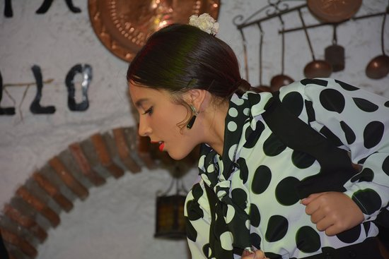 Venta El Gallo: ragazza gitana