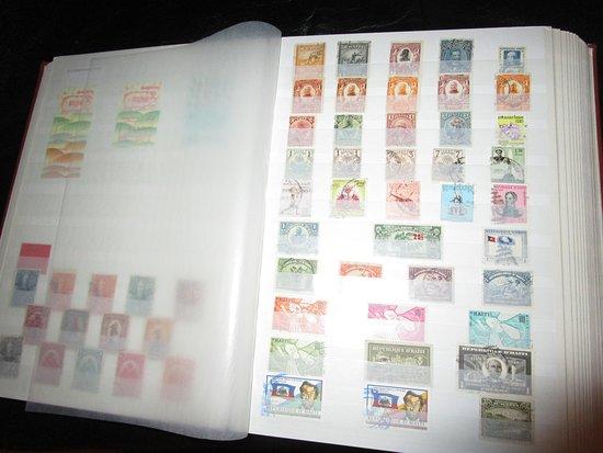 Stalden, Switzerland: Briefmarkensammlung