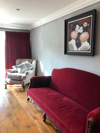 Burghfield, UK: Lounge