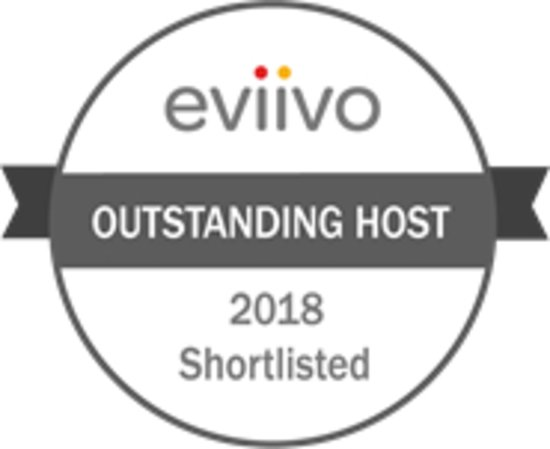 Burghfield, UK: We're proud to be on the Eviivo shortlist for Outstanding Host