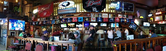 Prescott, AZ: Bar at Pudge & Asti's