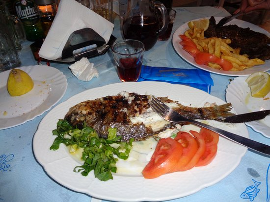 To Limanaki: Grilled fish
