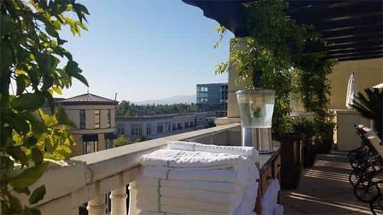 Hotel Valencia - Santana Row: 5th Floor Pool Area