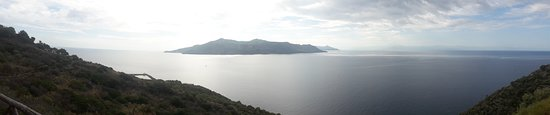 Punta Brigantino: panorama