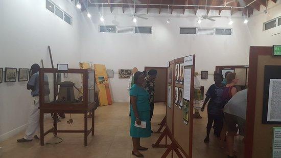 Montserrat: Inside the museum