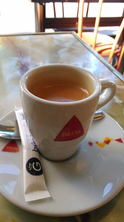 La Ferte-sous-Jouarre, Frankrike: Un bon café !