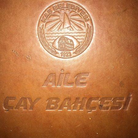 Kas Belediyesi Aile Cay Bahcesi صورة فوتوغرافية