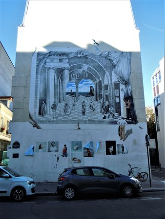 Fresque Le Theatre