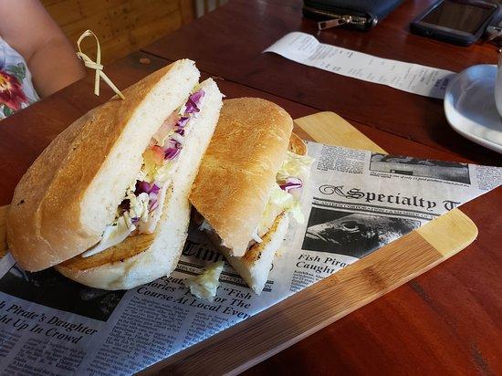 Yauco, Puerto Rico: chicken sandwich