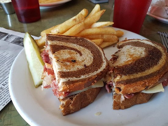 A Very Good Rueben From The Airplane Restaurant
