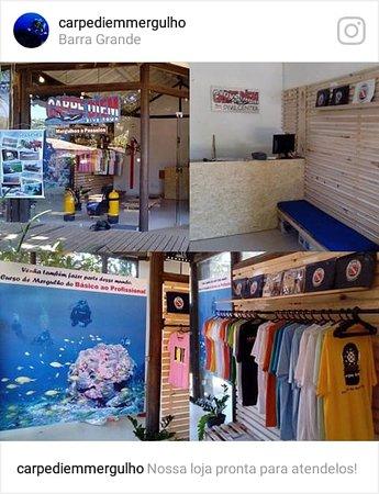 Carpe Diem Dive Center: Nossa loja