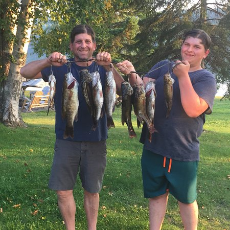 Elk Lake, Canada: Great Fishing, Amazing food, Wonderful hosts
