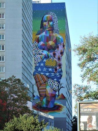 Fresque La Joconde