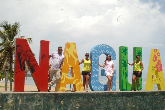 Entrada oriental de la Ciudad de Nagua, Provincia María Trinidad Sánchez, República Dominicana