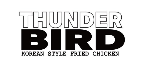 Thunderbird korean fried chicken: Thunderbird logo