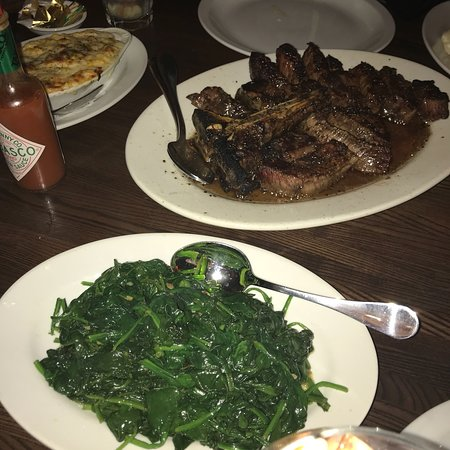 DeStefano's Steak House: Food was amazing. Enjoyed everything. Steak melts in your mouth.