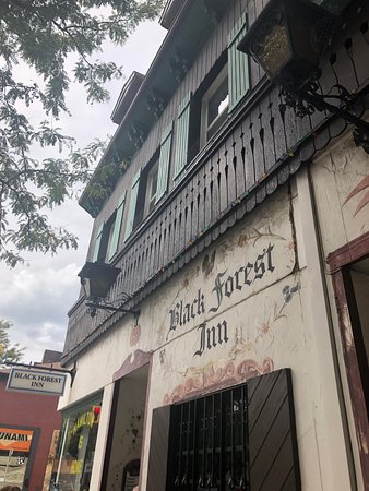 Black Forest Inn: Not so quaint exterior anymore