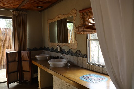 Djuma Game Reserve, แอฟริกาใต้: bathroom
