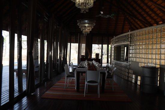Djuma Game Reserve, แอฟริกาใต้: Dinning room