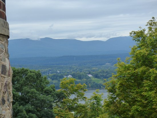 Olana State Historic Site: Catskills from Olana House
