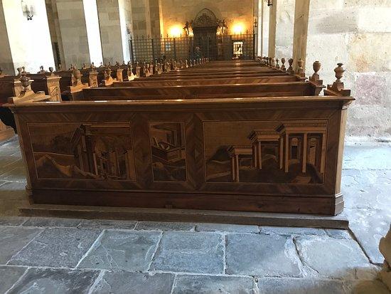 Heiligenkreuz, Österreich: Scene made of Linden wood