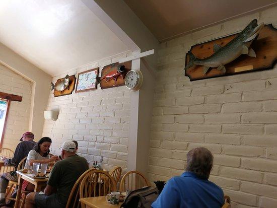 Twain Harte, Kalifornien: accross from where we sat