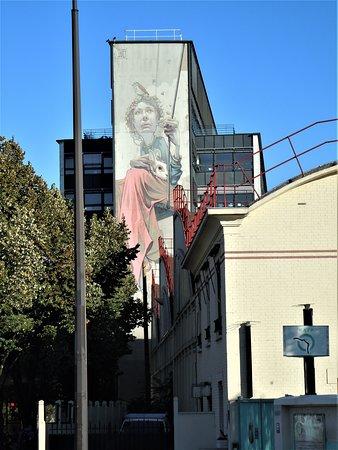 Fresque La Balancoire