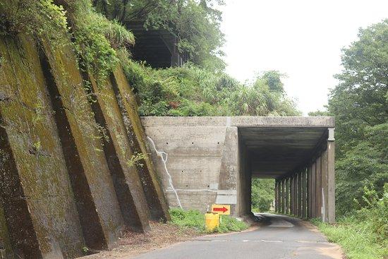 Old Hokuriku-line Yamanaka Rock Shed