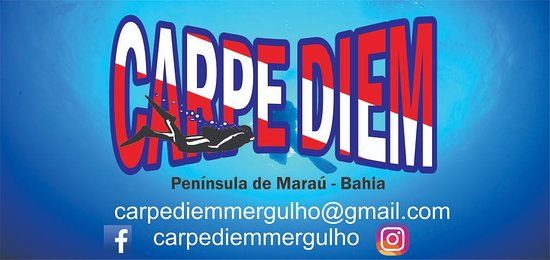 Carpe Diem Dive Center: logomarca