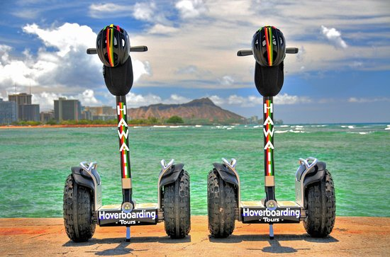 Hawaii Hoverboarding Tours all-terrain hoverboards.