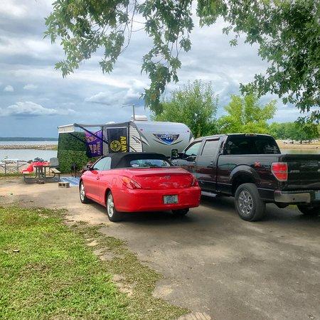 Highland, IL: Our campsite