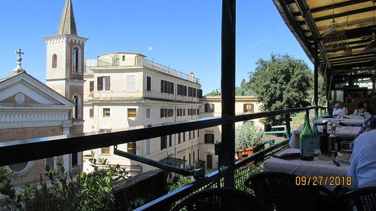 Vista Desde Terraza Picture Of Ciampini Rome Tripadvisor