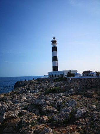 Cap d'Artrutx Lighthouse